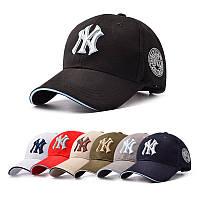 Кепка бейсболка х/б NY (New York). Качественная и стильная вещь из натурального хлопка