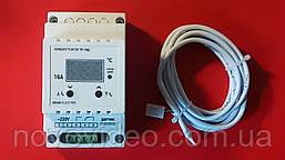 Терморегулятор цифровой для теплого пола на DIN-рейку ТР-16Д на 16А