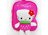 Рюкзак детский с игрушкой-аппликацией Hello Kitty