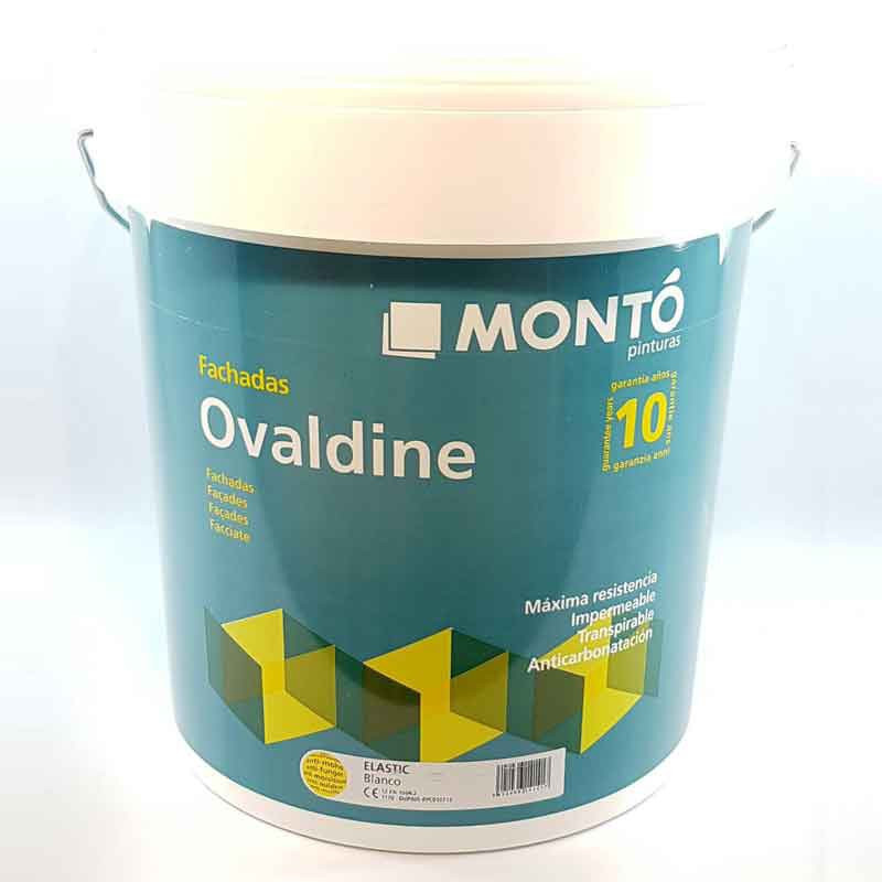 Эластичная водостойкая краска Monto Ovaldine Elastic Blanco 12л (Монто Овалдин Эластик Бланко)