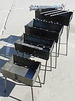 Мангал чемодан на 8 шампуров