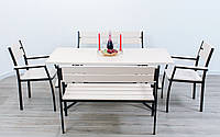 """Комплект мебели для кафе Микс-Лайн """"Стелла"""" Белый"""