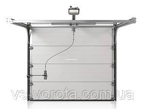 Ворота CLASSIC размер 2700х2200 мм - ALUTECH Белоруссия, гаражные секционные