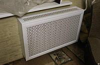 Короб на радиатор 600мм*600мм Омега Белый (включает экран)