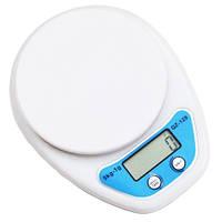 Весы кухонные QZ-129 5кг (1г) электронные
