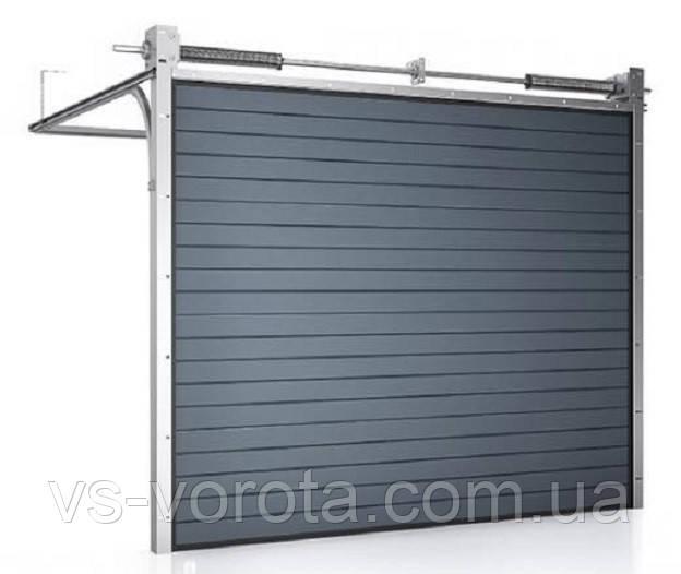 Ворота CLASSIC размер 4500х2200 мм - ALUTECH Белоруссия, гаражные секционные