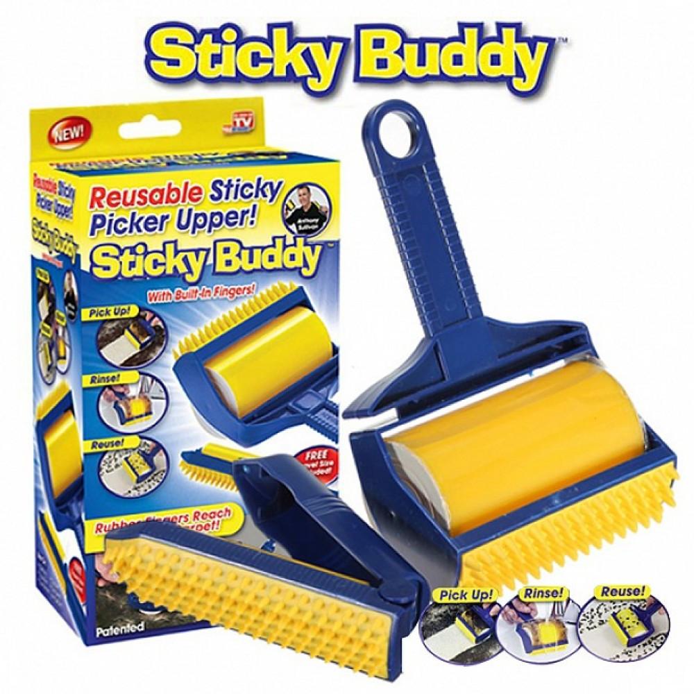 Sticky Buddy Набор профессиональных силиконовых валиков для уборки   ОРИГИНАЛ