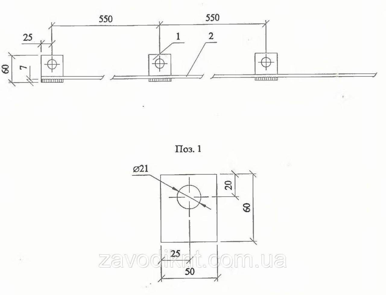 Заземляющий проводник ЗП6