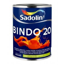 Полуматовая  краска для стен и потолка с высокой стойкостью к мытью Sadolin Bindo 20  10 л