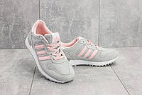 Кроссовки G 3087 -2 (Adidas Zx) (весна/осень, женские, текстиль, серый)