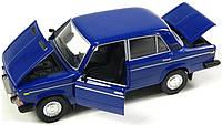 Машинка ВАЗ 2106 металева, фото 1