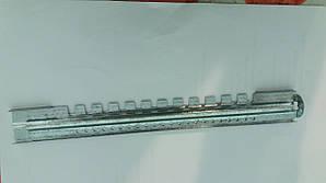Летковый заградитель 2 элементный нижний с отверстиями металлический