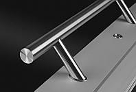 Дверная ручка из нержавеющей стали Wala P45 Ø30мм, угол крепления 45°.