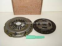 Комплект сцепления на Рено Меган III 1.5 dCi (84л.с) 6ст.КПП - RENAULT (Оригинал)  7701479161