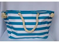 Пляжная текстильная сумка с морским принтом