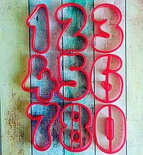 Формочки-вирубки для пряників Цифри №2