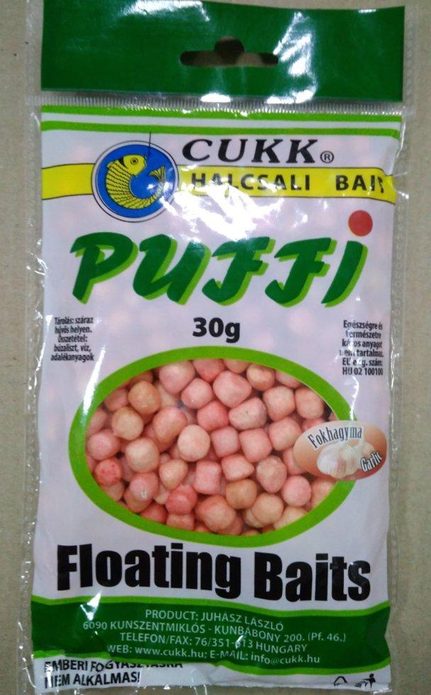Воздушное тесто Cukk Puffi Чеснок миди 30г