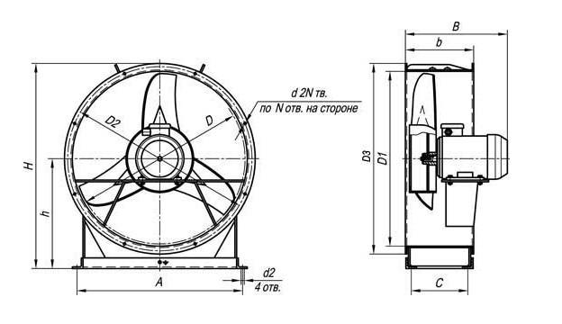 Вентилятор ВО 06-300 купить
