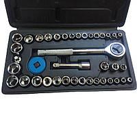 Набор торцевых головок Extra german style EX-8047 (40 предметов), инструменты для машины, Набори інструментів, Наборы инструментов