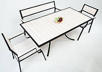 """Комплект мебели для кафе Микс-Лайн """"Бристоль"""" Белый"""
