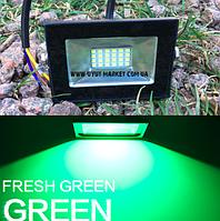 Зеленый прожектор для подсветки газонов 10Вт, LMP37-10