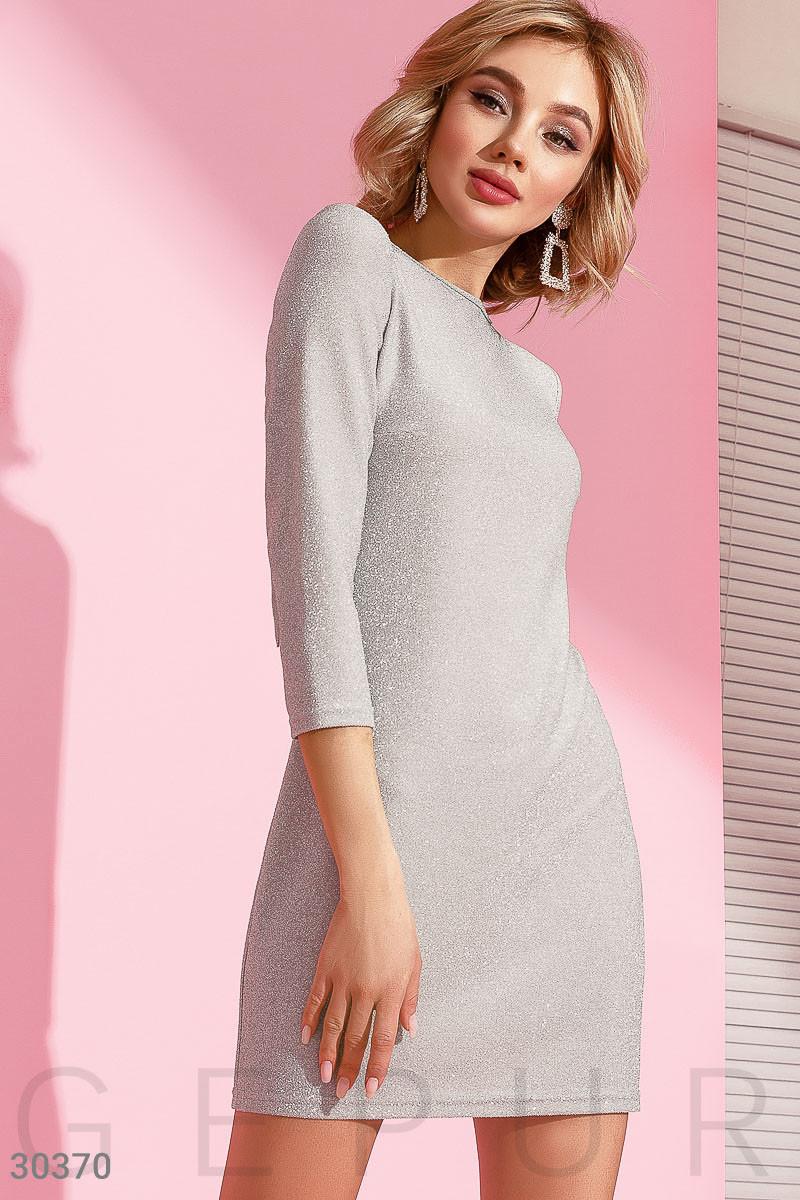 90f4b2db5280d5f Блестящее короткое платье с завязками на спине - Модная одежда, обувь и  аксессуары интернет-