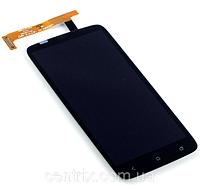 Дисплей (экран) для HTC One X S720e, X325 + тачскрин, цвет черный
