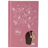Книга записная KITE BeSound-6 K19-199-6 твердая обложка А6, 80 листов, клетка, фото 1