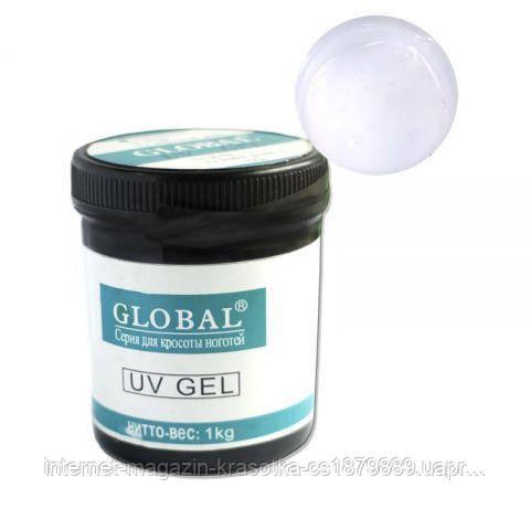 Гель Global однофазный CLEAR прозрачный 1кг(гель не печет)новая формула