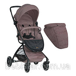 Прогулочная коляска бежевая Lorelli SPORT BEIGE малышам старше 6 месяцев