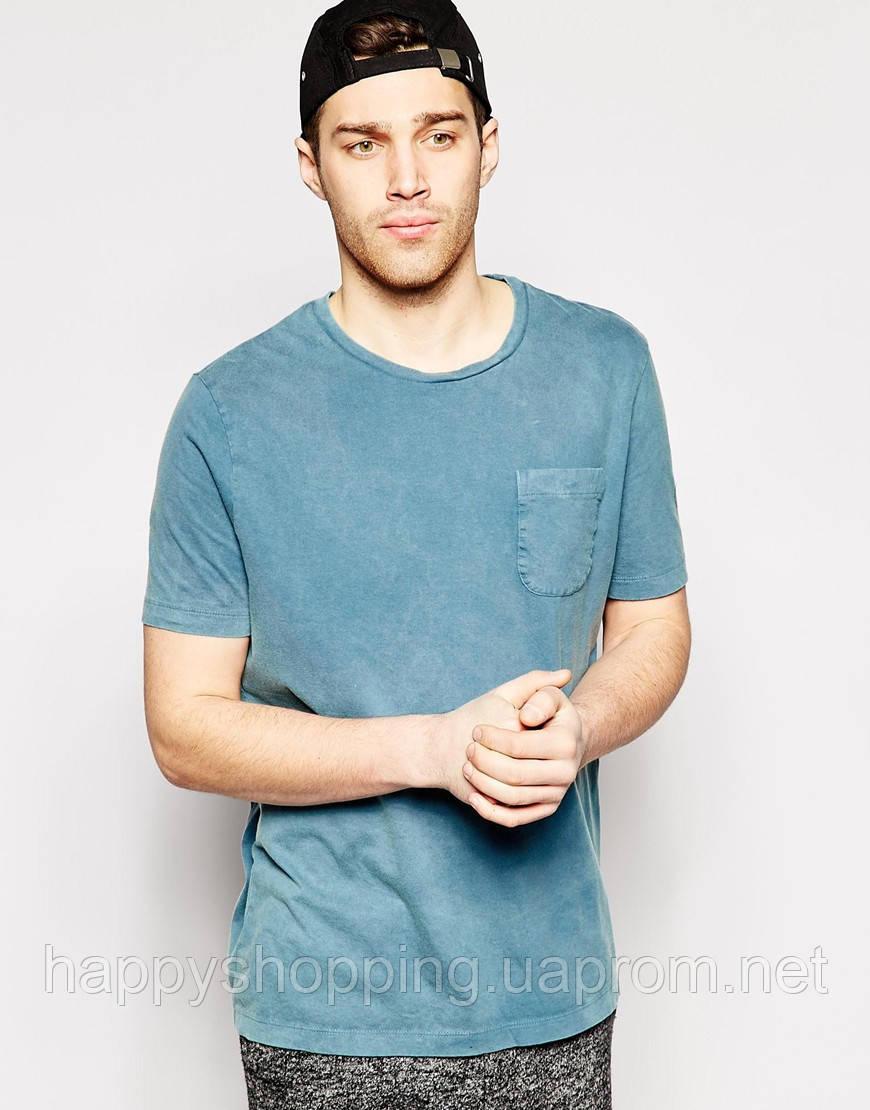 Синяя футболка Asos