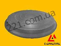 Люк полимерпесчаный канализационный черный (до 5 тонн)