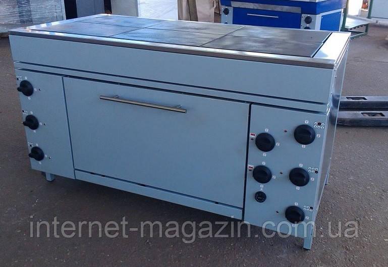 Плита промышленная электрическая с духовым шкафом