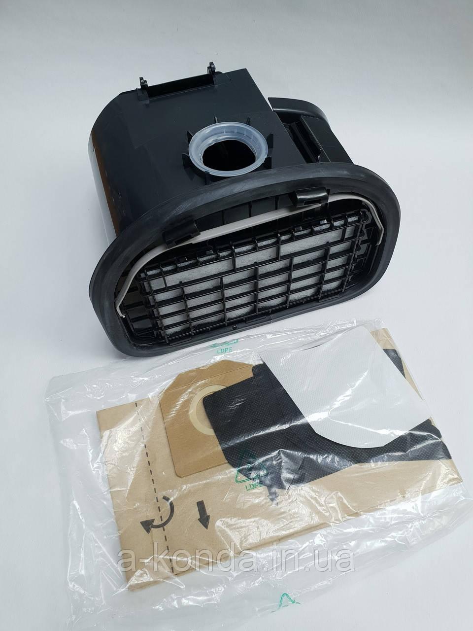 Контейнер для пыли (пылесборник) для пылесоса Zelmer 619.0350