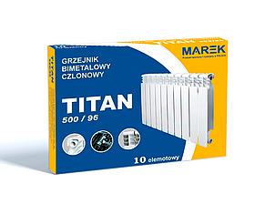 Радиатор Marek Titan 500x96 Биметаллический (Секционный)