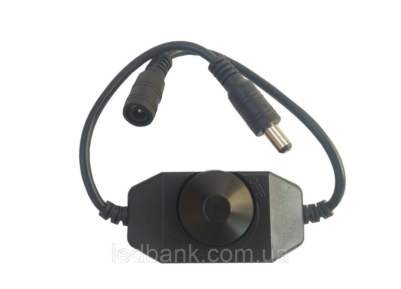 Диммер для светодиодной ленты 2А DR-2A 12В Черный