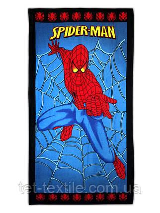 """Пляжное полотенце """"Человек паук"""" 70х140см., фото 2"""