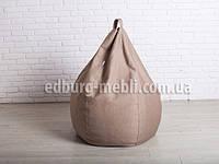 Кресло мешок груша большая |  кофейный шенилл Bonus