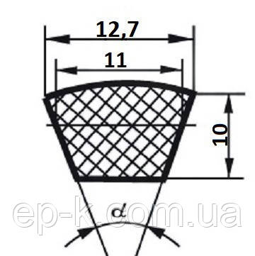 Ремень клиновой  SPA-1082, фото 2