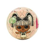 """Кукла  L.O.L. ( ЛОЛ ) шар -  сюрприз с настоящими волосами """" Hairgoals """"  в коробке ( 26 серия )"""