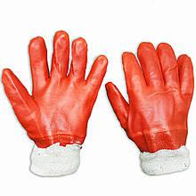 Перчатки маслобензостойкие, нитриловый облив, узкий манжет, Китай, уп. — 12 пар