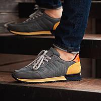 Мужские кроссовки высокие модные весенние South Oxford D-gray, фото 1