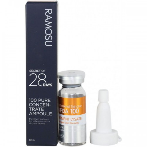 Антивозрастная ампульная сыворотка со 100% улиточным муцином Ramosu Snail Mucin Filtrate 100 (10ml)