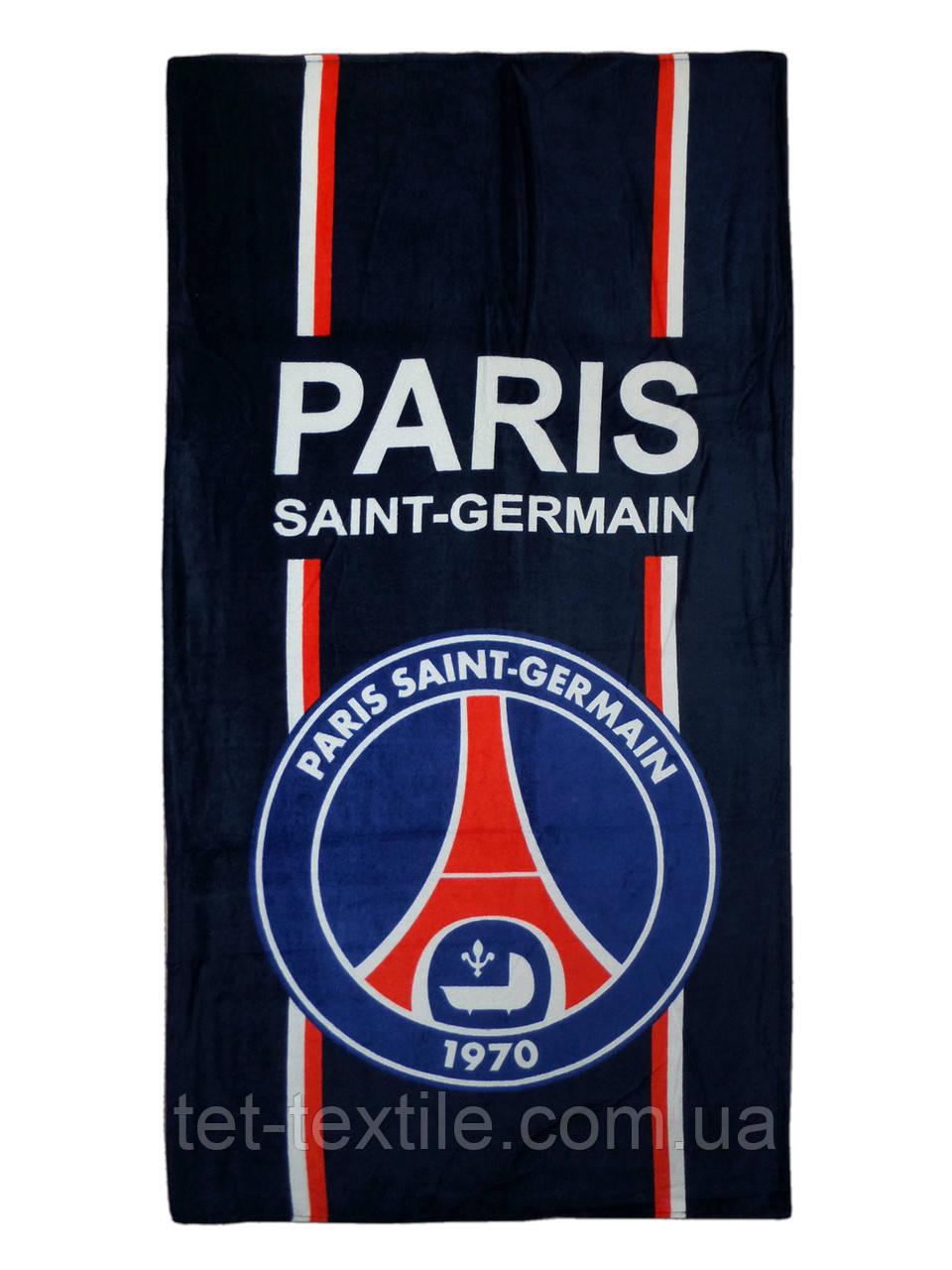 "Пляжное полотенце ""Paris"" 70х140см."