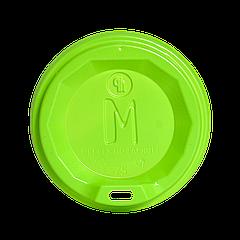 """Крышка """"M"""" КВ75 Салатовая 50шт/уп (1ящ/60уп/3000шт) (250 стакан)"""