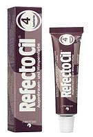 RefectoCil №4 Каштановая - краска для бровей и ресниц, 15 мл