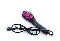 Электрическая расческа выпрямитель волос Simply Straight HQT-906B, Черная, с доставкой по Украине
