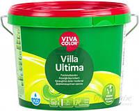 Краска для дерева Villa Ultima база VVA Vivacolor белый полумат 2,7л 3,5кг