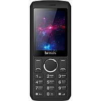 Мобильный телефон Bravis C242 Slim Black