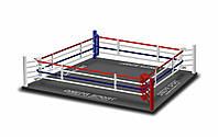 Боксерский ринг 7,8*7,8м, канаты 6,1*6,1м., фото 1